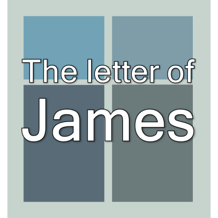 The letter of James.
