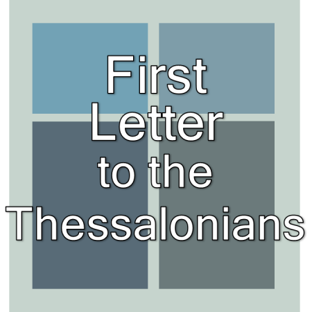 First Thessalonians.