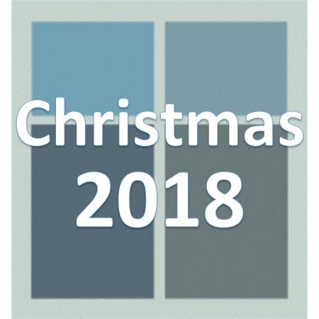 Christmas 2018.