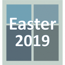 Easter 2019.