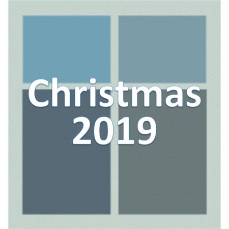Christmas 2019.
