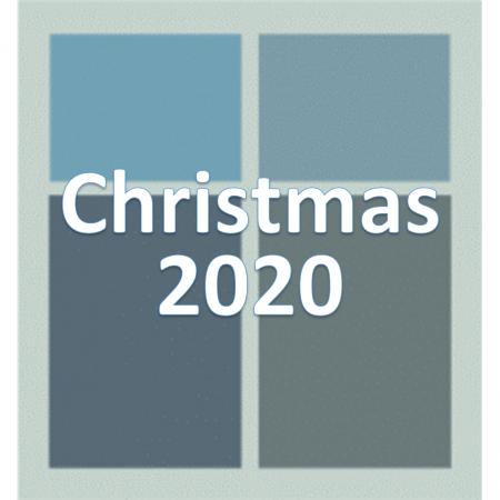 Christmas 2020.