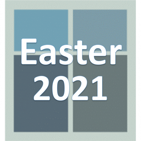Easter 2021.